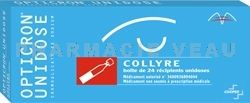 OPTICRON  Collyre Boite de 24 unidoses