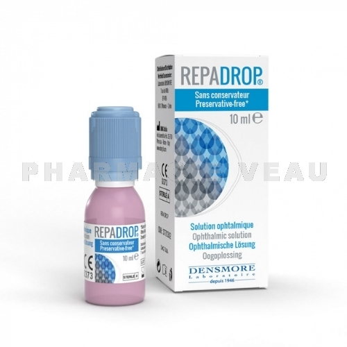 RepaDrop Solution ophtalmique 10 ml Densmore