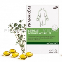 AROMAFORCE Capsules Défenses Naturelles Bio x30 Pranarôm