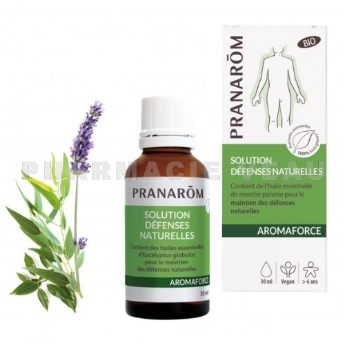AROMAFORCE Solution défenses naturelles Bio (30 ml) Pranarôm