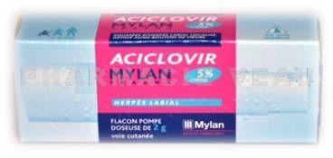 ACICLOVIR Mylan flacon pompe de 2 grammes - Vente en ligne ... b72af577840