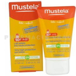 MUSTELA Lait Protection Solaire SPF50+ 100ml