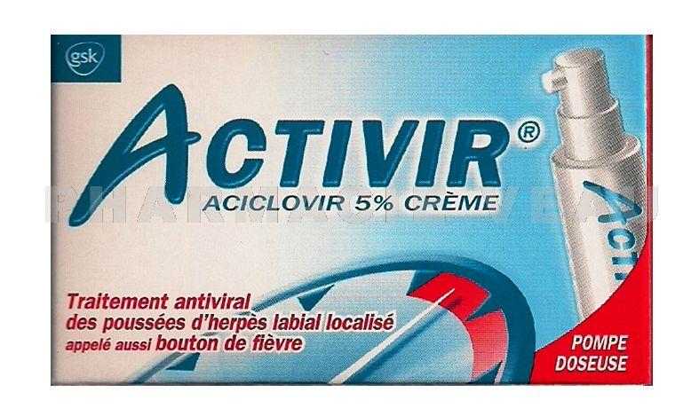 Aciclovir creme vente libre : Sevrage prozac avis