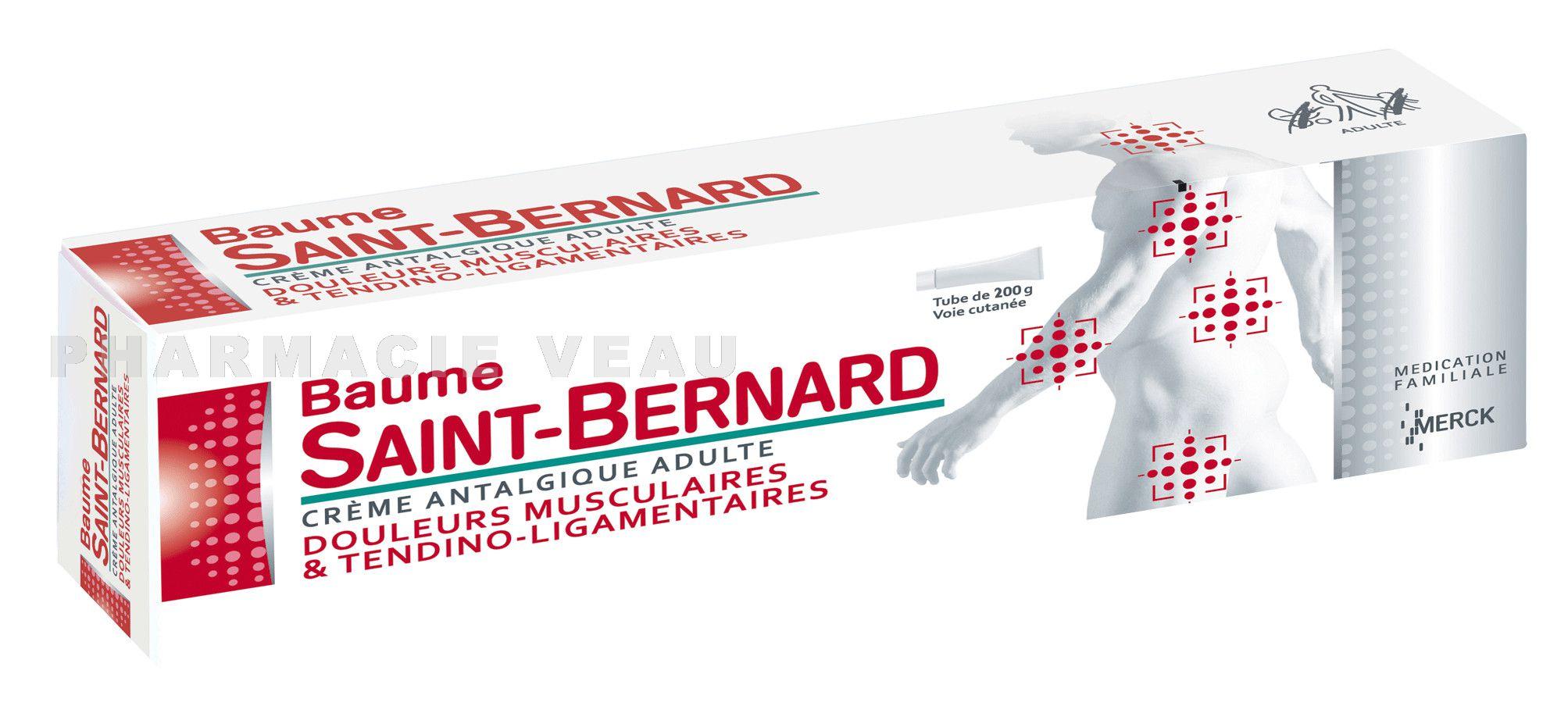 baume saint bernard cr me tube de 100g. Black Bedroom Furniture Sets. Home Design Ideas