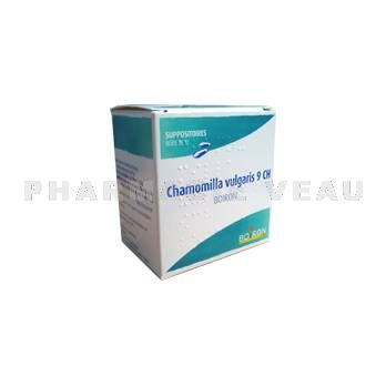 CHAMOMILLA VULGARIS 9 CH BOIRON 12 Suppositoires