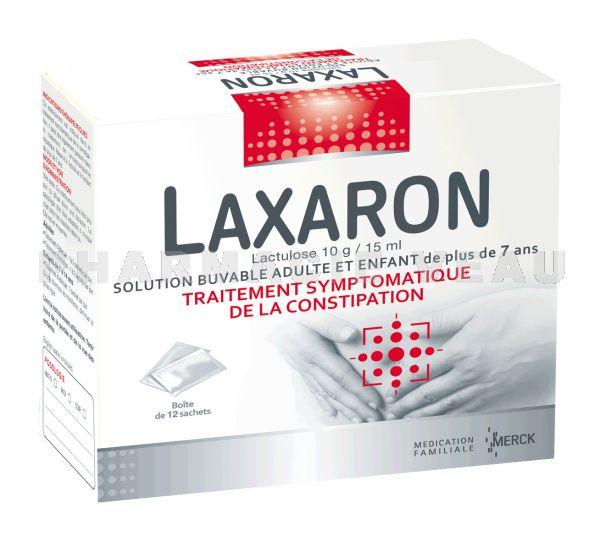 LAXARON solution buvable 12 sachets