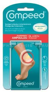 COMPEED Pansements Ampoules MEDIUM Moyen (5 pansements)