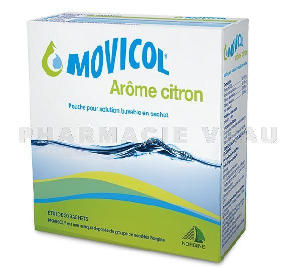 MOVICOL Arôme Citron Boîte de 20 sachets