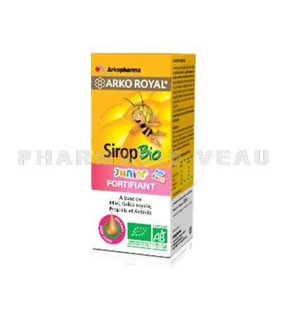 ARKOROYAL Sirop Fortifiant Junior BIO (140 ml) Arkopharma