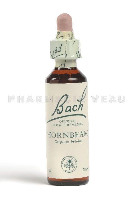Fleur De Bach Charme Hornbeam Pharmacieveau Fr