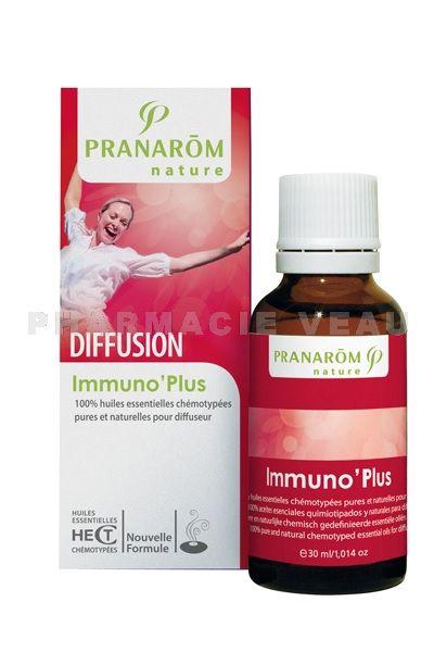 Immuno 39 plus m lange d 39 huiles essentielles diffusion - Diffuseur huiles essentielles pranarom ...