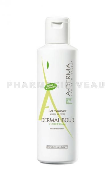 ADERMA DERMALIBOUR Gel Moussant (250 ml)