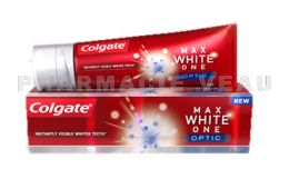 COLGATE Dentifrice Max White One Optic 75 ml Blancheur
