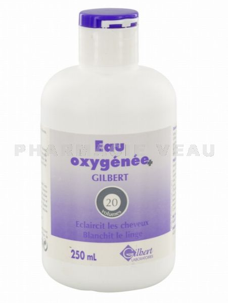 gilbert eau oxyg n e 20 volumes flacon 250ml pharmacieveau. Black Bedroom Furniture Sets. Home Design Ideas