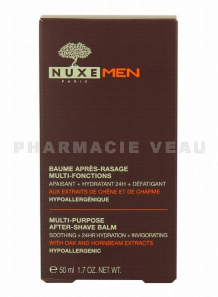 NUXE MEN Baume Après-rasage Multi-fonctions tube 50 ml