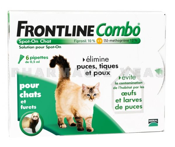 FRONTLINE COMBO CHAT (6 pipettes)