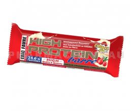 ERIC FAVRE Barre High Protein Gout Cranberries Chocolat Blanc 80g