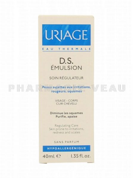 URIAGE DS émulsion tube 40 ml