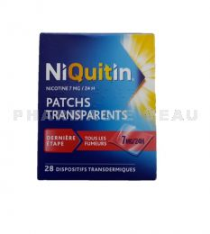 NIQUITIN PATCH 7mg/24h 28 Patchs transparents