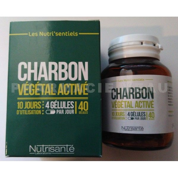 charbon v g tal 40 g lules nutrisant pharmacieveau. Black Bedroom Furniture Sets. Home Design Ideas