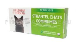 CLEMENT THEKAN Strantel vermifuge CHATS 2 comprimes
