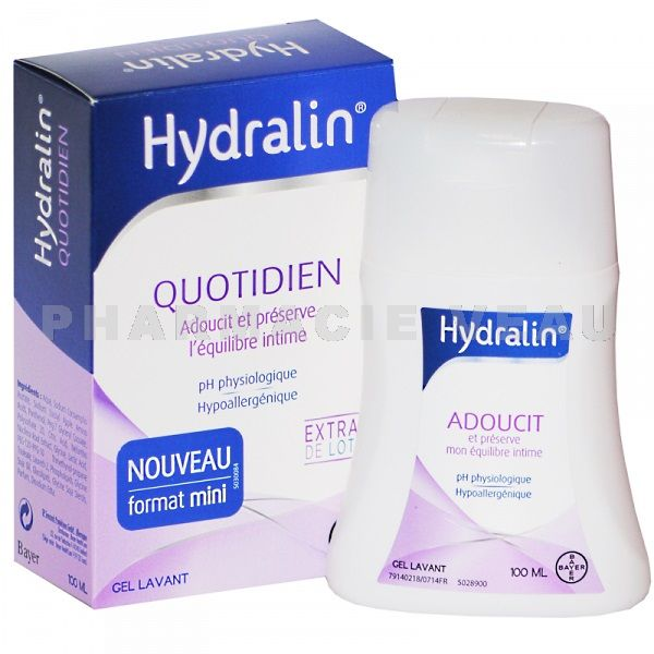 HYDRALIN Quotidien Gel Lavant Intime (100 ml)