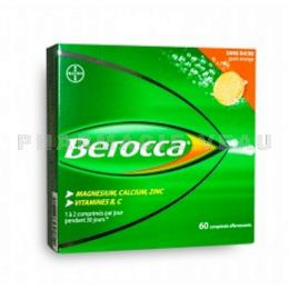BEROCCA Fatigue passagère 60 comprimés effervescents