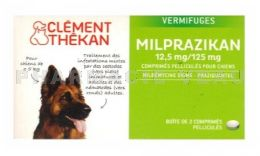 CLEMENT THEKAN Milprazikan 12.5 mg/125 mg Vermifuge CHIENS